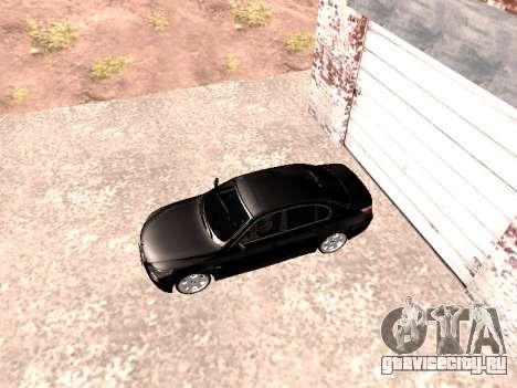 BMW 525i (e60) для GTA San Andreas вид сзади слева