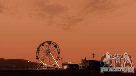 ENB Gamerealfornia v1.00 для GTA San Andreas пятый скриншот