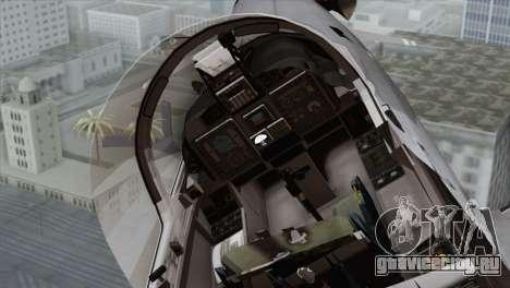 Embraer A-29B Super Tucano Marines для GTA San Andreas вид сзади