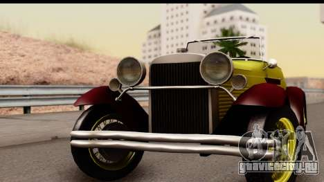 Ford A 1928 для GTA San Andreas вид сзади слева