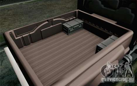 Vapid Guardian GTA 5 для GTA San Andreas вид справа