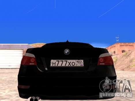 BMW 525i (e60) для GTA San Andreas вид справа