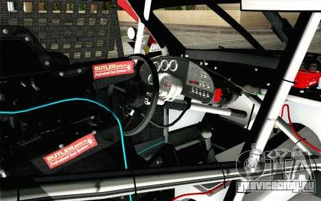 NASCAR Toyota Camry 2012 Short Track для GTA San Andreas вид справа