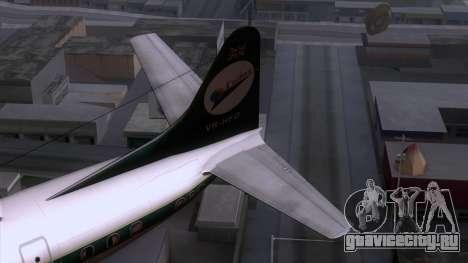 L-188 Electra Cathay P для GTA San Andreas вид сзади слева