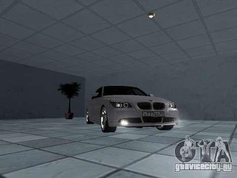 BMW 525i (e60) для GTA San Andreas вид сзади