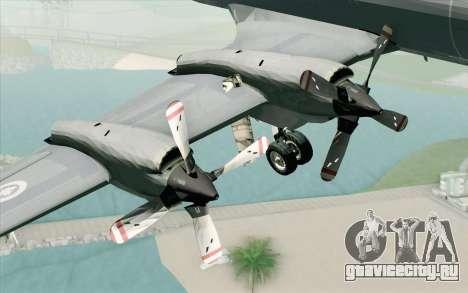 Lockheed P-3 Orion RCAF для GTA San Andreas вид справа