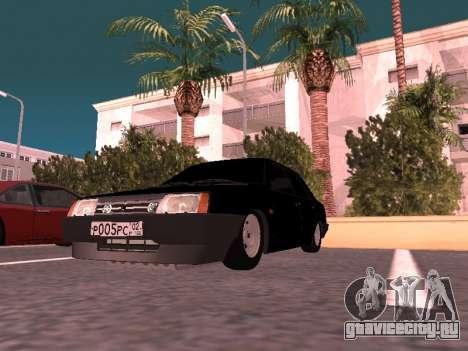 ВАЗ 21099 для GTA San Andreas вид сбоку