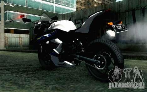 Kawasaki Ninja 250RR Mono White для GTA San Andreas вид слева
