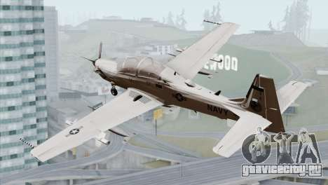 Embraer A-29B Super Tucano Navy White для GTA San Andreas