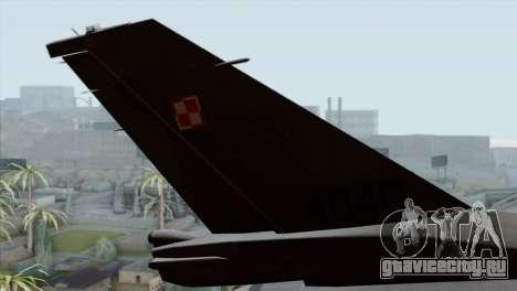 F-16C Block 52 PJ для GTA San Andreas вид сзади слева