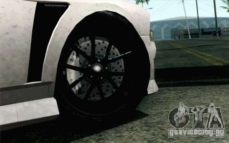 GTA 5 Bravado Buffalo S v2 IVF для GTA San Andreas вид сзади слева