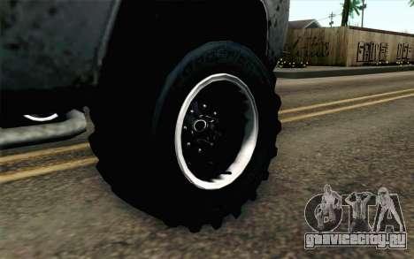 Pickup from Alan Wake для GTA San Andreas вид сзади слева