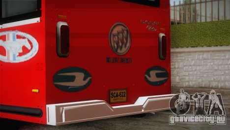 Dodge 300 Microbus для GTA San Andreas вид сзади