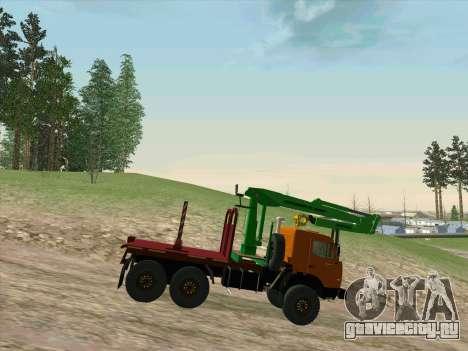 КамАЗ 44108 Лесовоз для GTA San Andreas вид справа