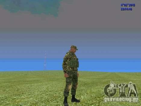 Боец из батальона Сомали для GTA San Andreas третий скриншот