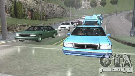 Road Reflections Fix 1.0 для GTA San Andreas для GTA San Andreas