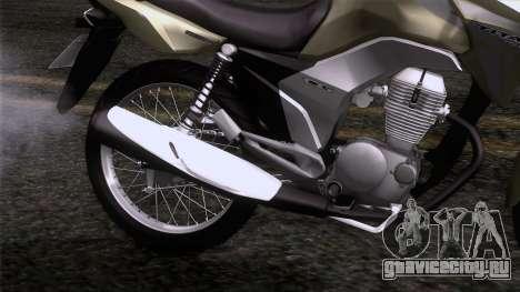 Honda CG Titan 150 2014 для GTA San Andreas вид сзади