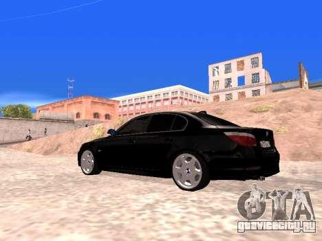 BMW 525i (e60) для GTA San Andreas вид слева