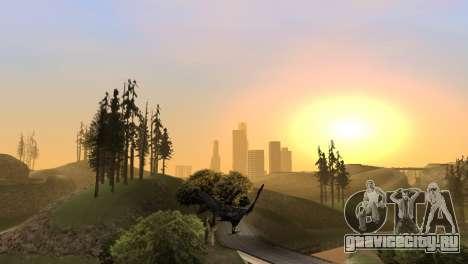 Возможность из GTA V играть за птицу V.1 для GTA San Andreas седьмой скриншот