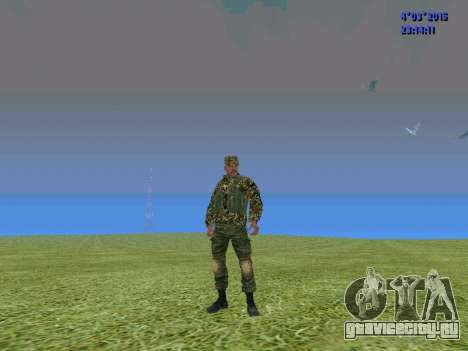 Боец из батальона Сомали для GTA San Andreas второй скриншот