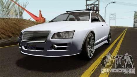 GTA 5 Obey Tailgater IVF для GTA San Andreas