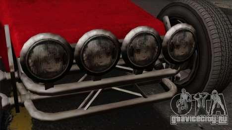 GTA 5 Dune Buggy SA Mobile для GTA San Andreas вид сзади