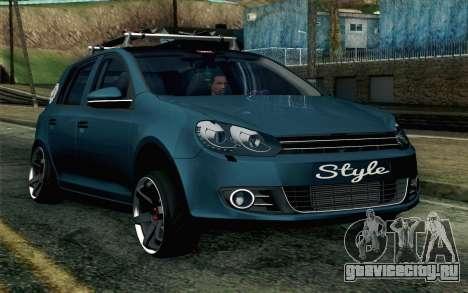 Volkswagen Golf для GTA San Andreas