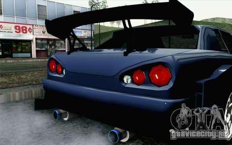 Elegy GP Sports G-SONIC EVO Kit для GTA San Andreas вид сзади