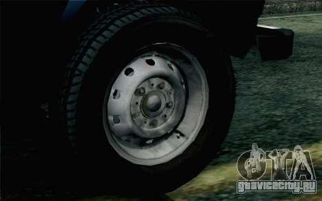 ВАЗ 2131 Нива 5Д для GTA San Andreas вид сзади слева
