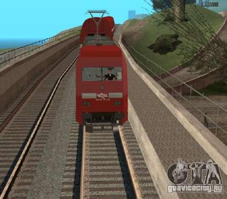 Israeli Train для GTA San Andreas вид справа