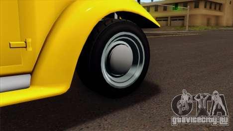 GTA 5 Bravado Rat-Truck для GTA San Andreas вид сзади слева