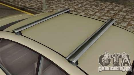 GTA 5 Obey Tailgater SA Mobile для GTA San Andreas вид справа