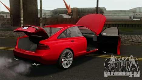 GTA 5 Obey Tailgater для GTA San Andreas вид справа