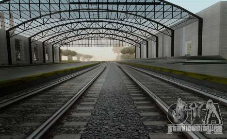 HD Рельсы v3.0 для GTA San Andreas