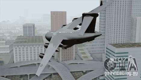 C-17A Globemaster III RAF для GTA San Andreas вид слева