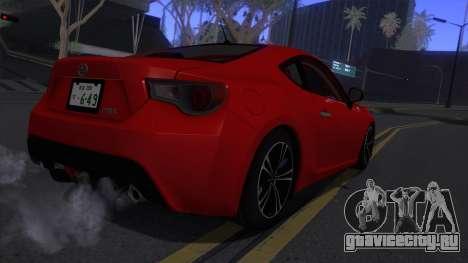 Scion FR-S 2013 Stock v2.0 для GTA San Andreas вид справа