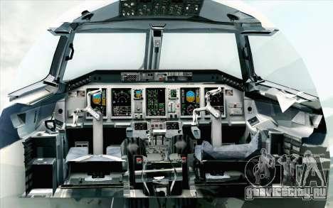 Embraer EMB-175 LOT Polish Airlines 600th E-Jet для GTA San Andreas вид сзади