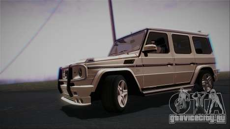 Mercedes-Benz G65 2013 AMG Body для GTA San Andreas вид слева