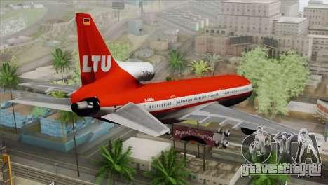 Lookheed L-1011 LTU Intl для GTA San Andreas вид слева