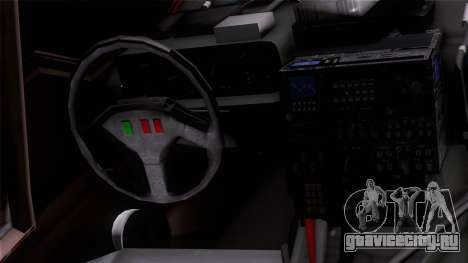 Shuttle v1 (wheels) для GTA San Andreas вид сзади