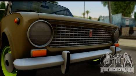 ВАЗ 2101 Stock v3.2 для GTA San Andreas вид сзади слева