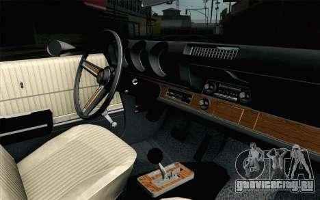 Oldsmobile 442 Holiday Coupe 1969 IVF АПП для GTA San Andreas вид справа