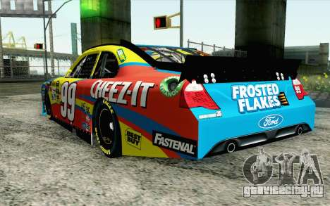 NASCAR Ford Fusion 2012 Short Track для GTA San Andreas вид слева