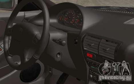 Acura Integra Type R 2001 Stock для GTA San Andreas вид сзади