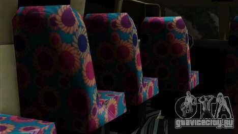 Volkswagen Microbus для GTA San Andreas вид справа