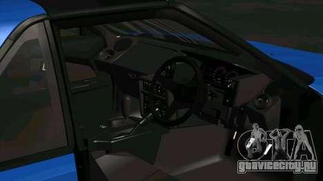Toyota MR2 1600 G-Limited (AW11) для GTA San Andreas вид сзади