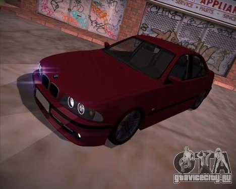 BMW 5-series E39 Vossen для GTA San Andreas