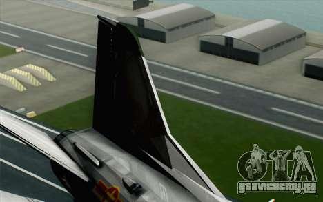 MIG-21MF Vietnam Air Force для GTA San Andreas вид сзади слева