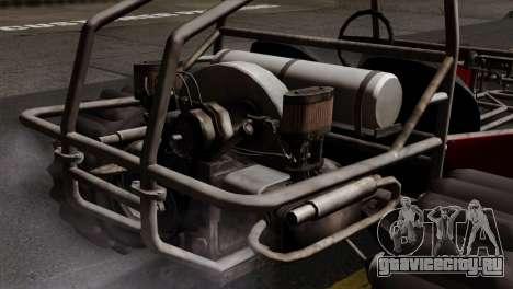 GTA 5 Dune Buggy SA Mobile для GTA San Andreas вид сзади слева