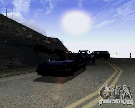 LineFlex ENBseries для GTA San Andreas третий скриншот